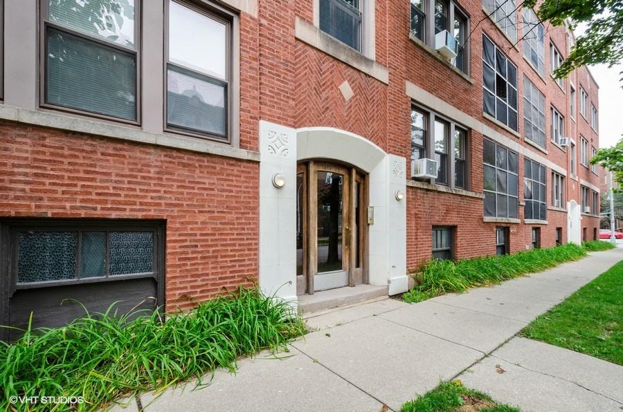 Rogers Park - 1408 West Jonquil Terrace Unit 3, Chicago, IL 60626 - Front View