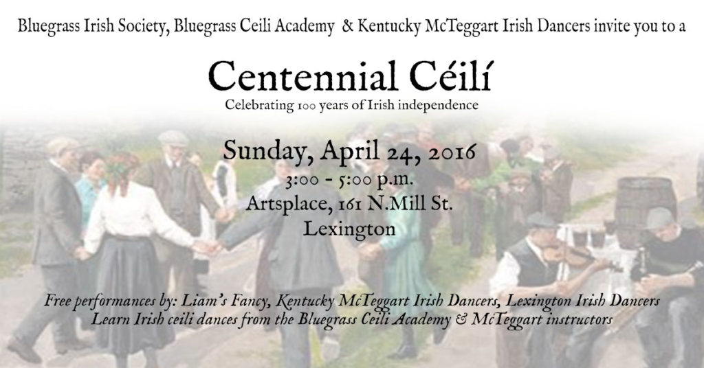 Lexington Irish dance community event
