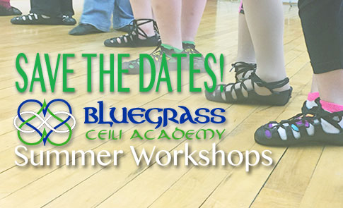 Bluegrass Ceili summer Irish dance classes in Lexington for adults and children