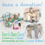 Donations for cultural arts classes in Lexington