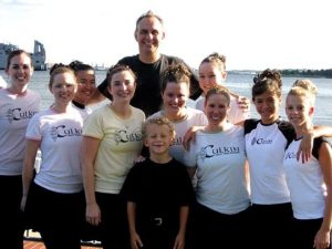 Sean Culkin with Culkin dancers