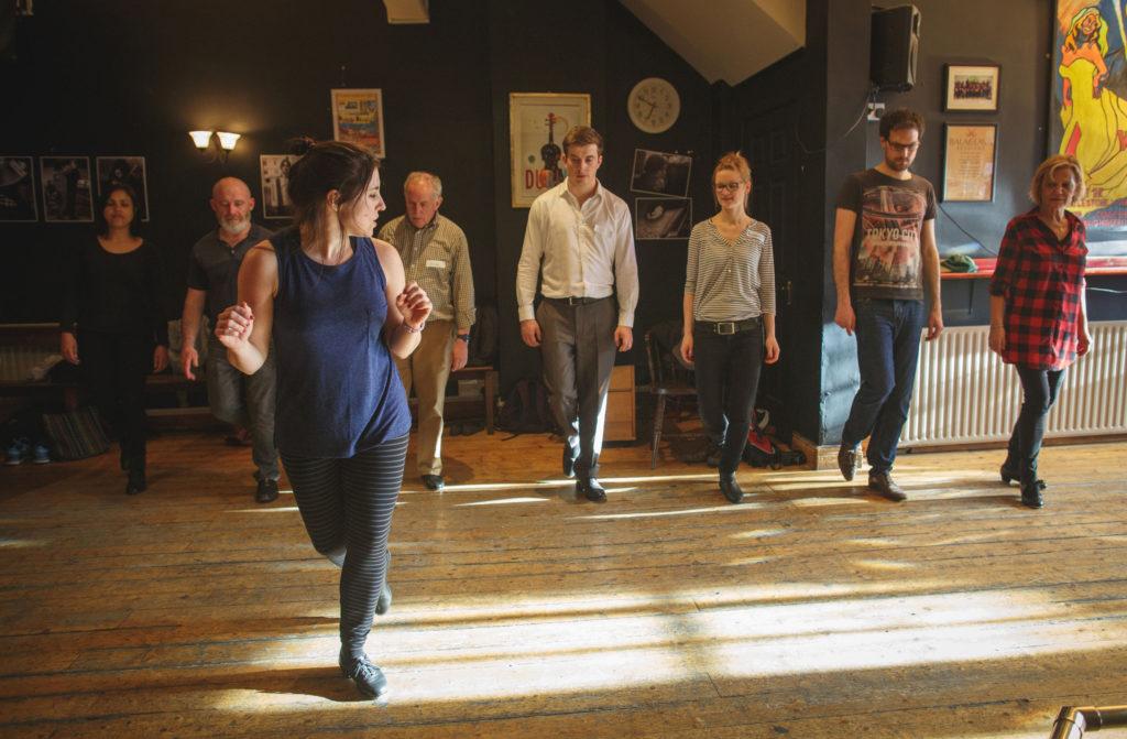 Irish dance percussive workshop in Lexington