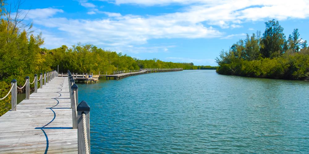 Aquarina's Community River Pier