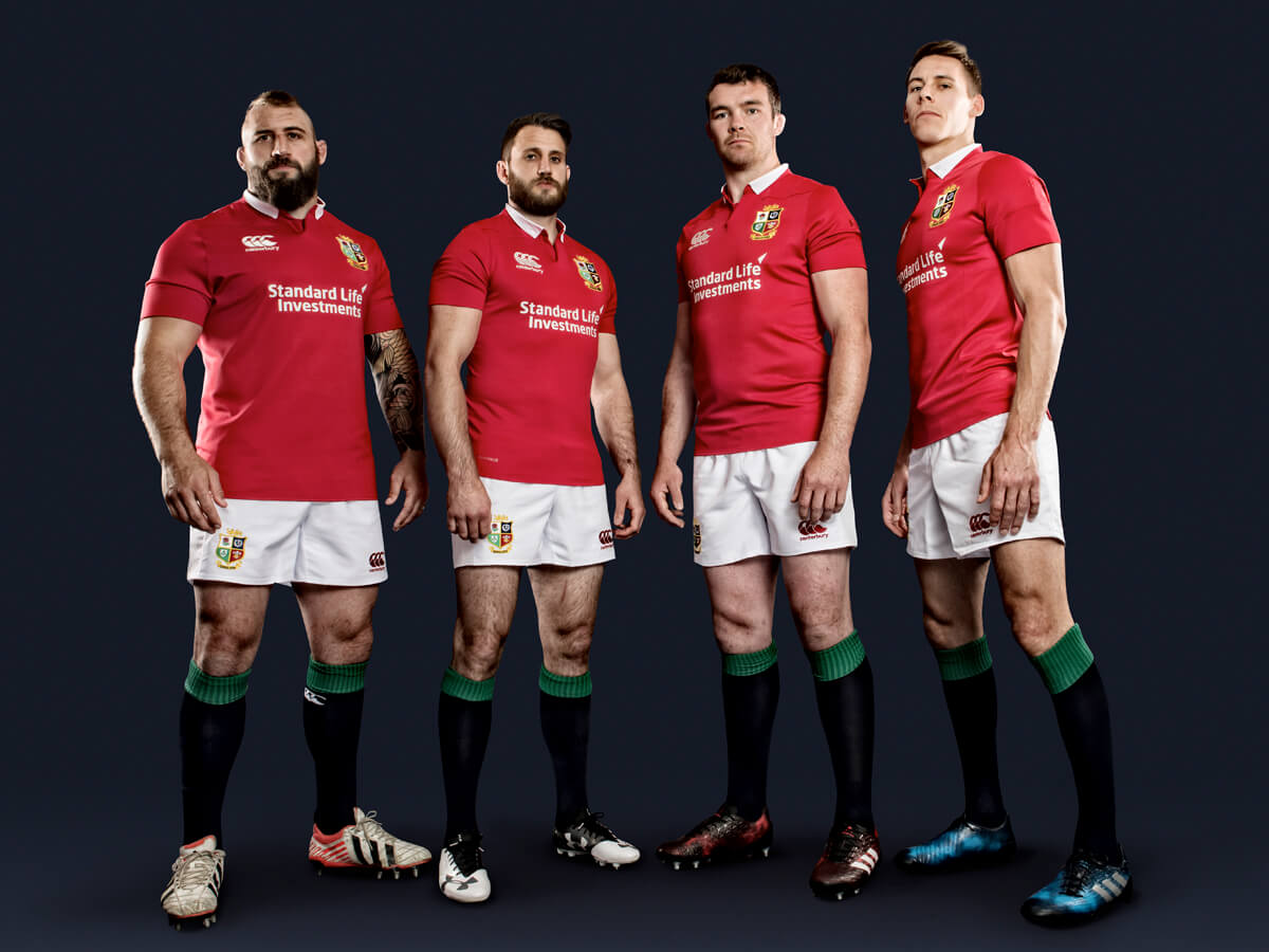 British Lions Rugby Players