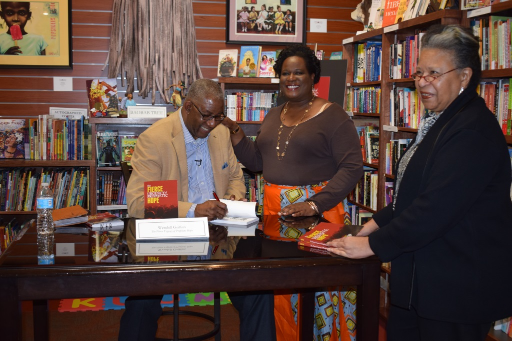 """Pyramid Art, Books and Custom Framing Book Signing: """"The Fierce Urgency of Prophetic Hope"""", by Rev. Wendell Griffen"""