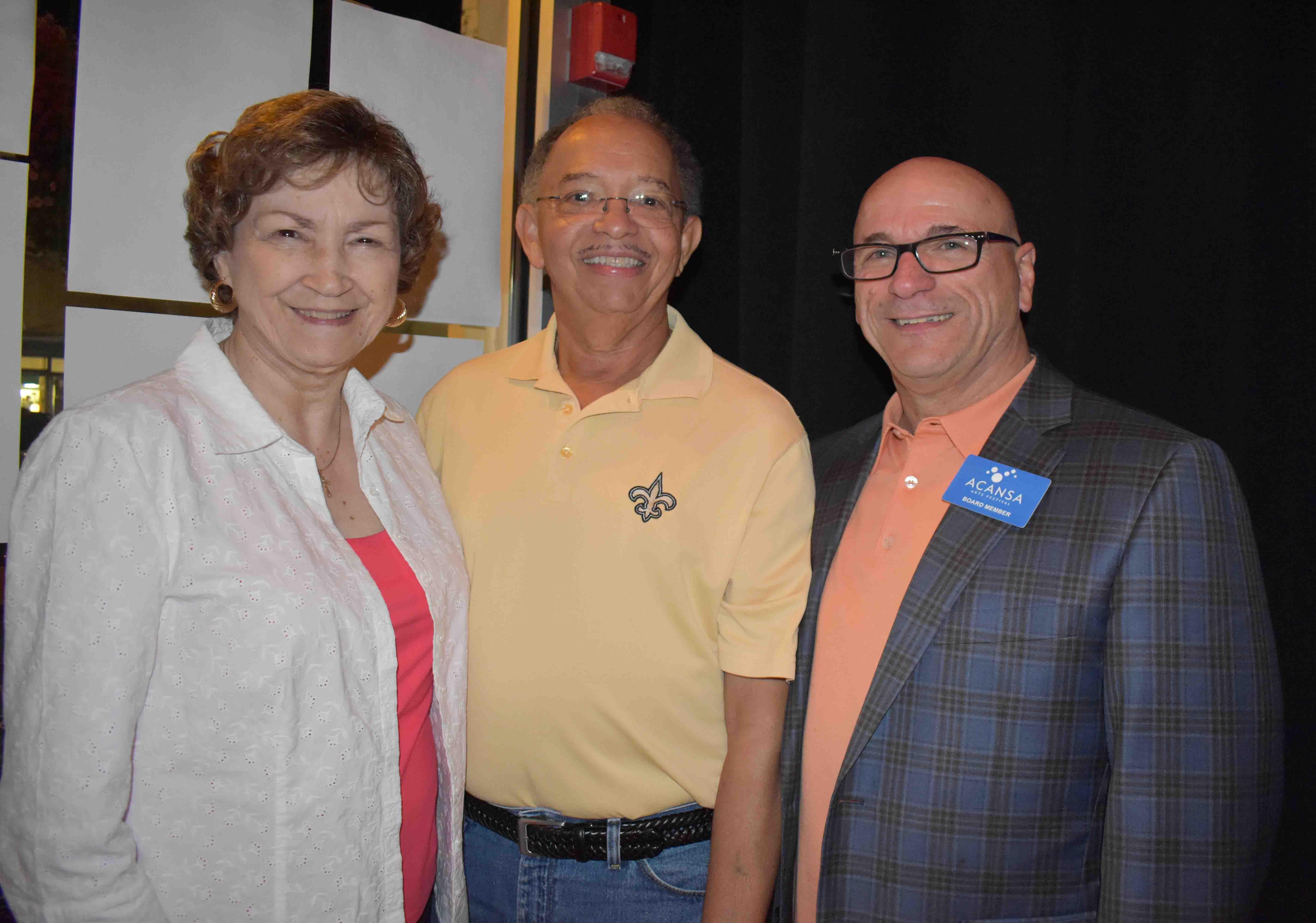 Carol & Louis Gaignard (New Iberia, LA), John Gaudin