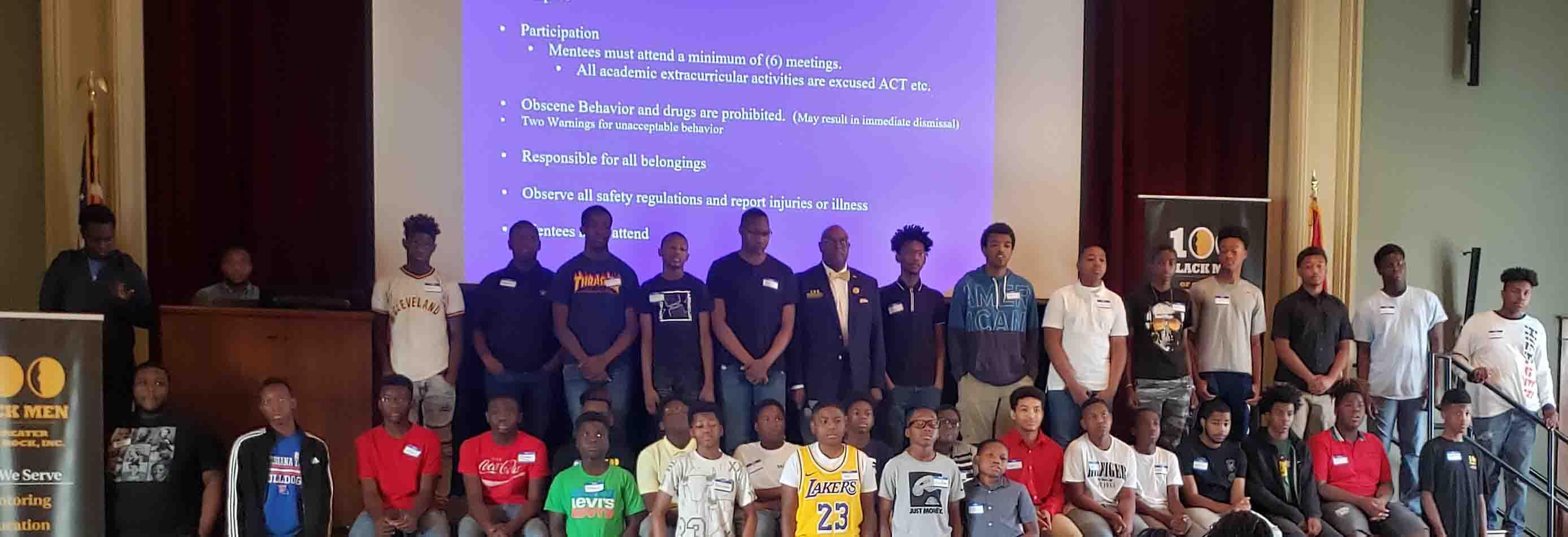 100 Black Men Orientation – The Kids
