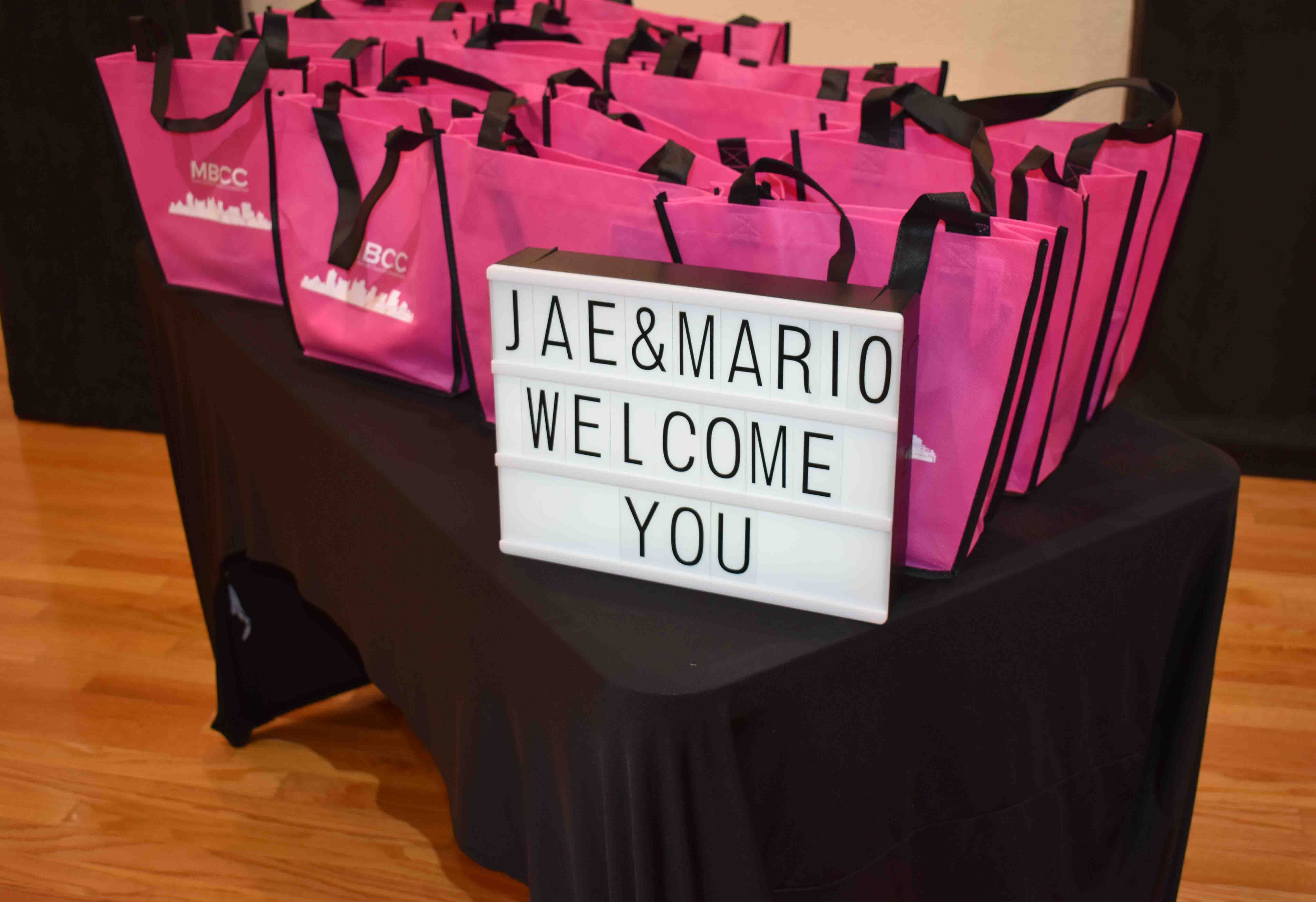 Welcome Bags!