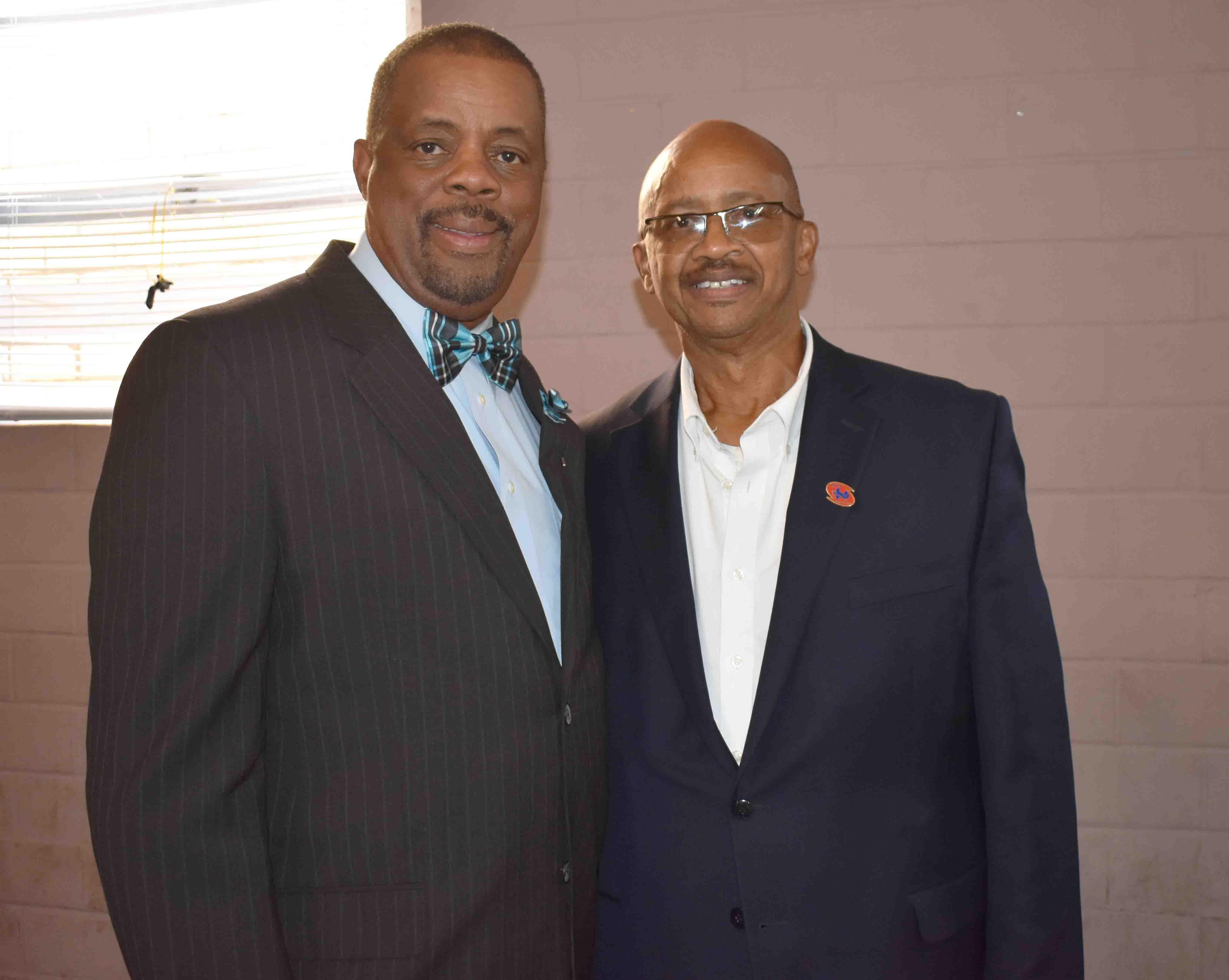 City Councilman Ivan Whitfield,  City CouncilmanDonald Hatchett  (Pine Bluff)