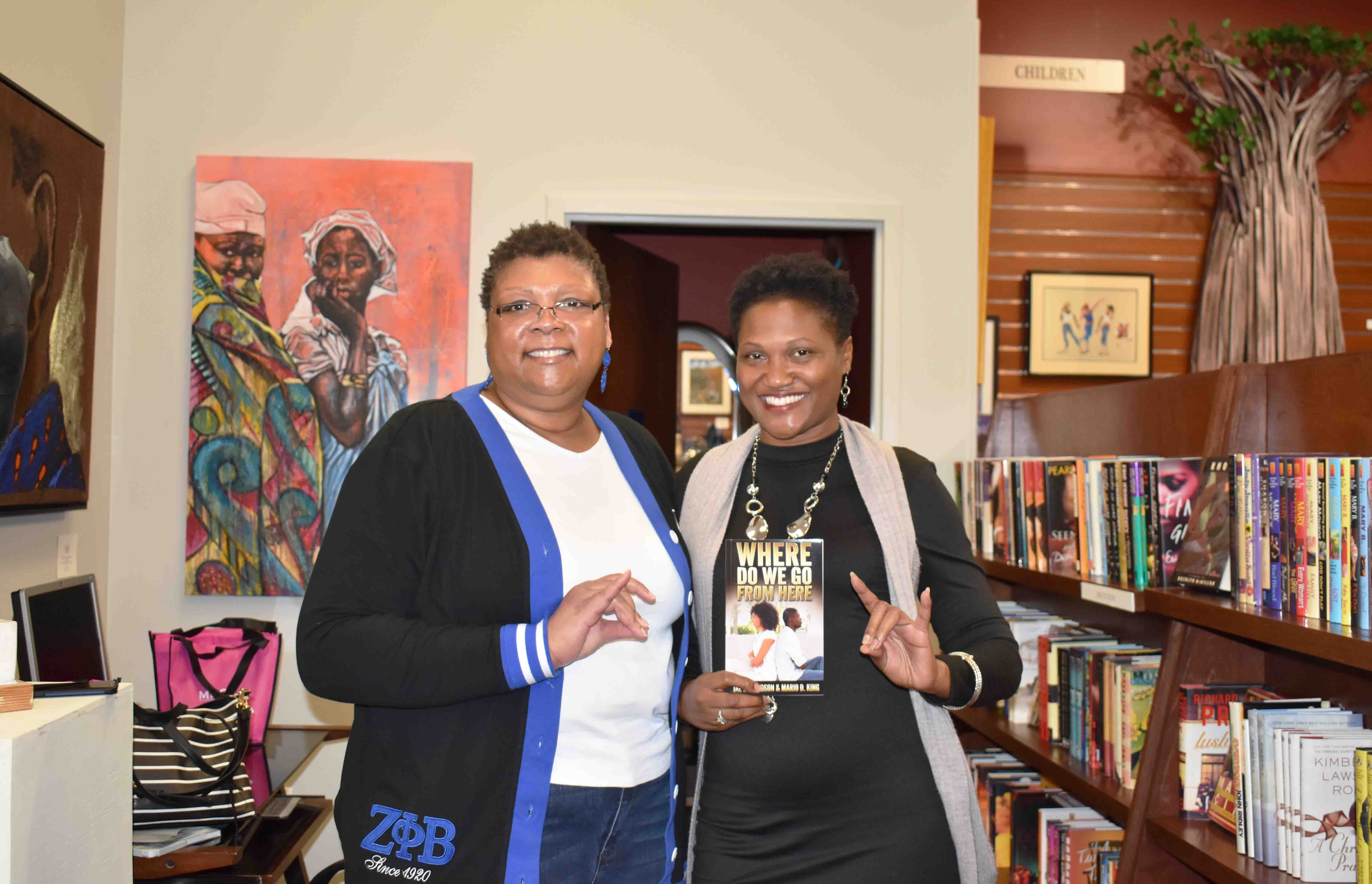 Regina Butler, Author, Jae Henderson