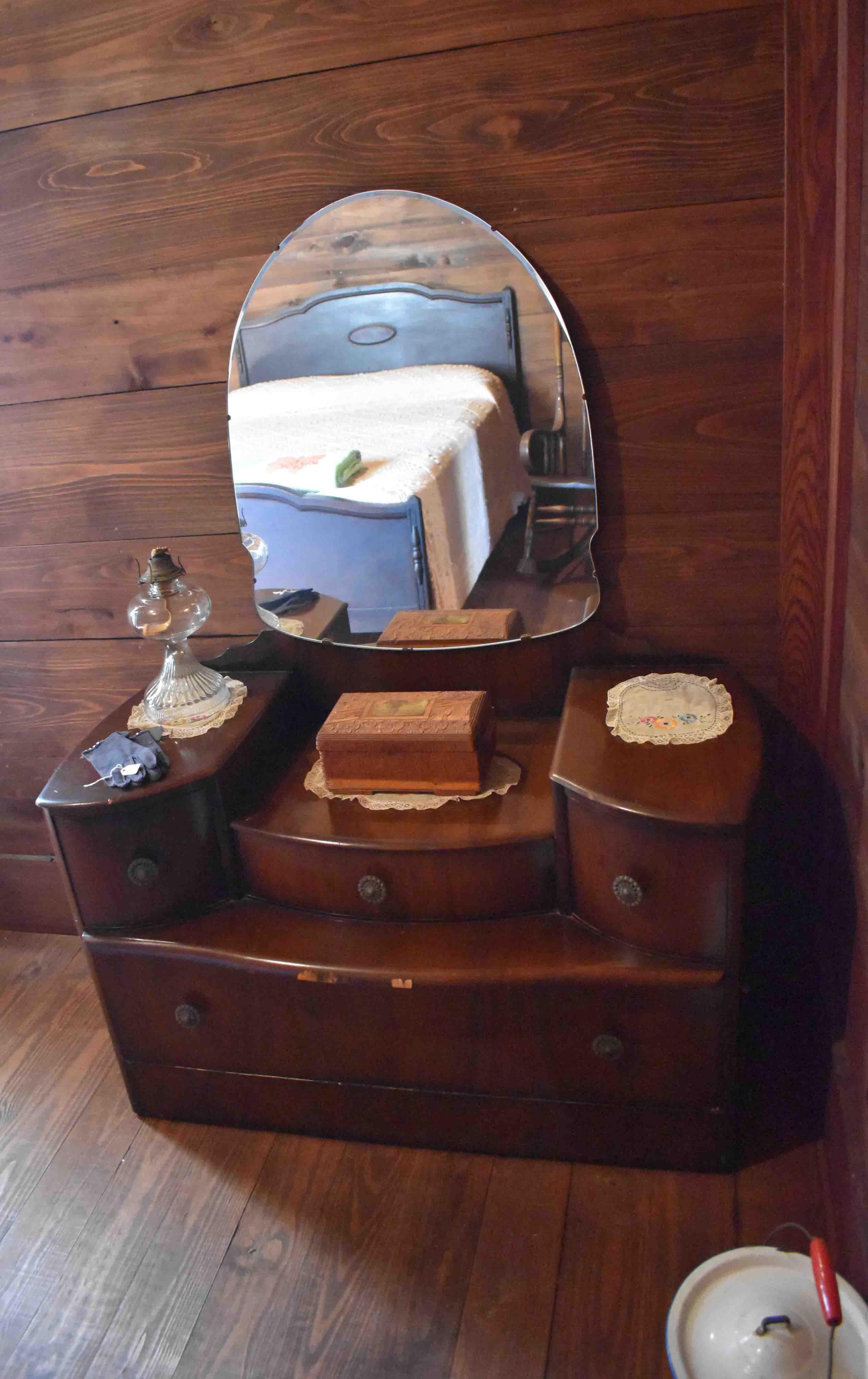 Antique Dresser in John H. Johnson Family Home