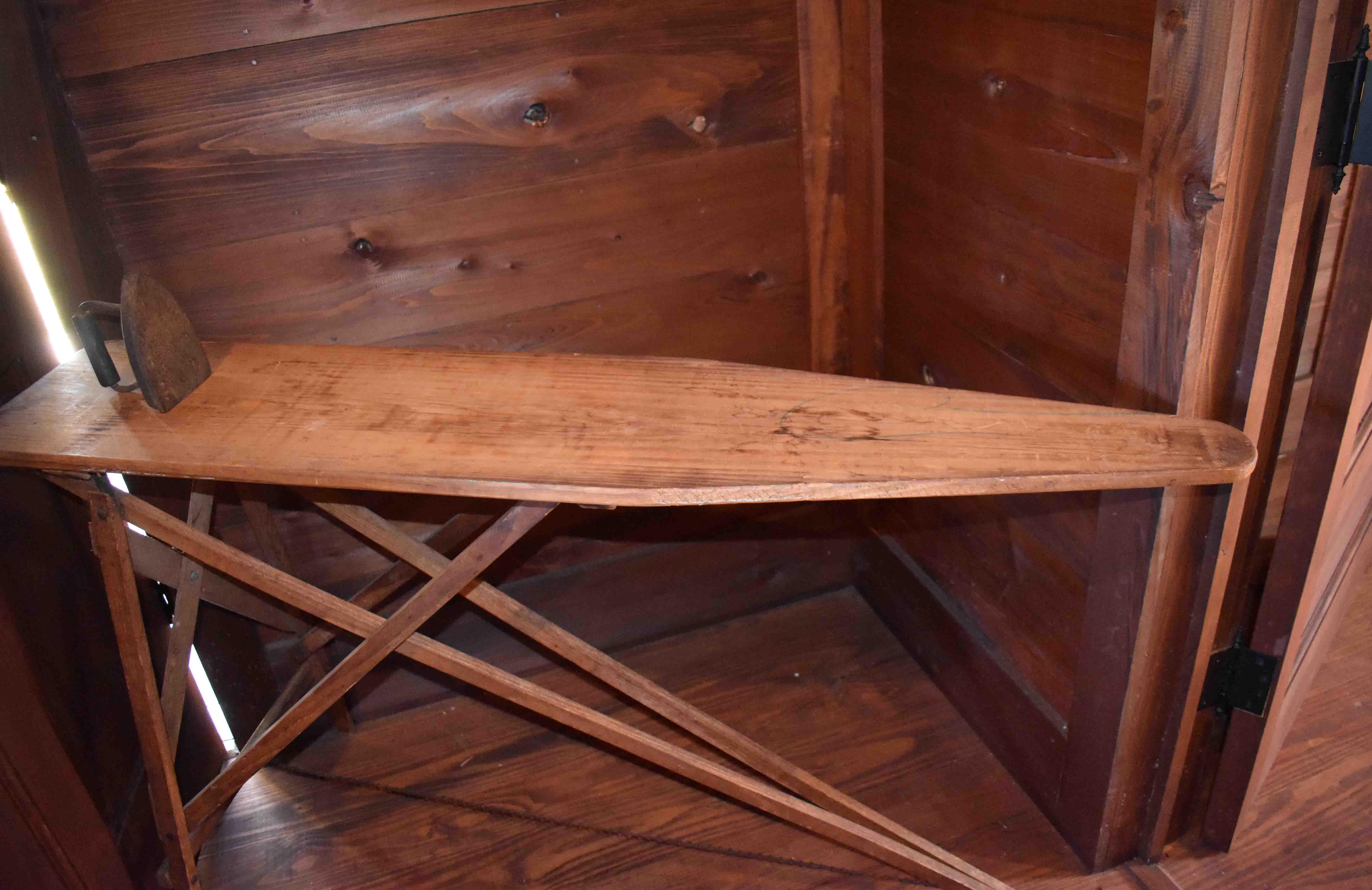 Antique Ironing Board in John H. Johnson Childhood Home