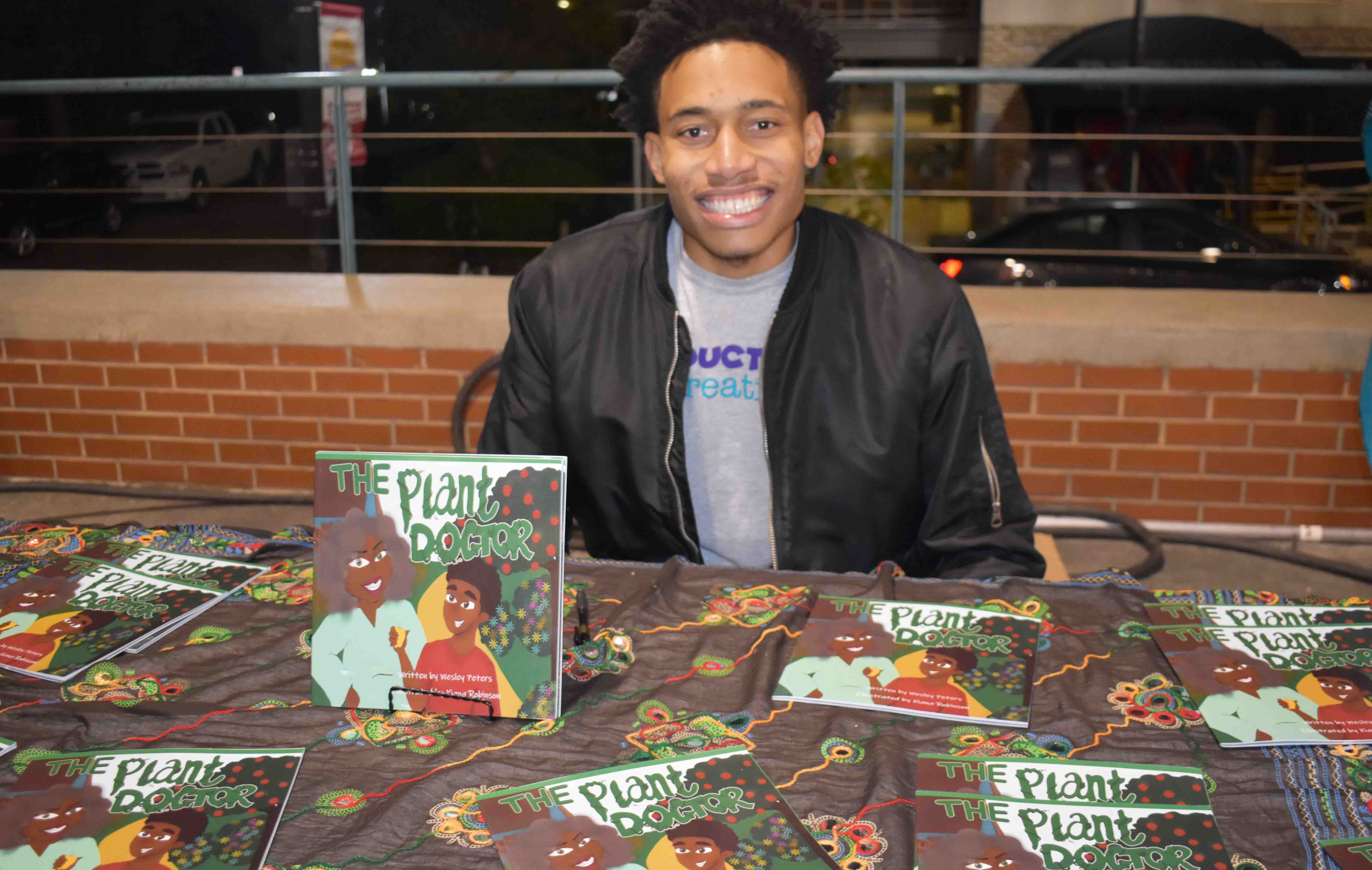 Wesley Peters (author, The Plant Doctor )