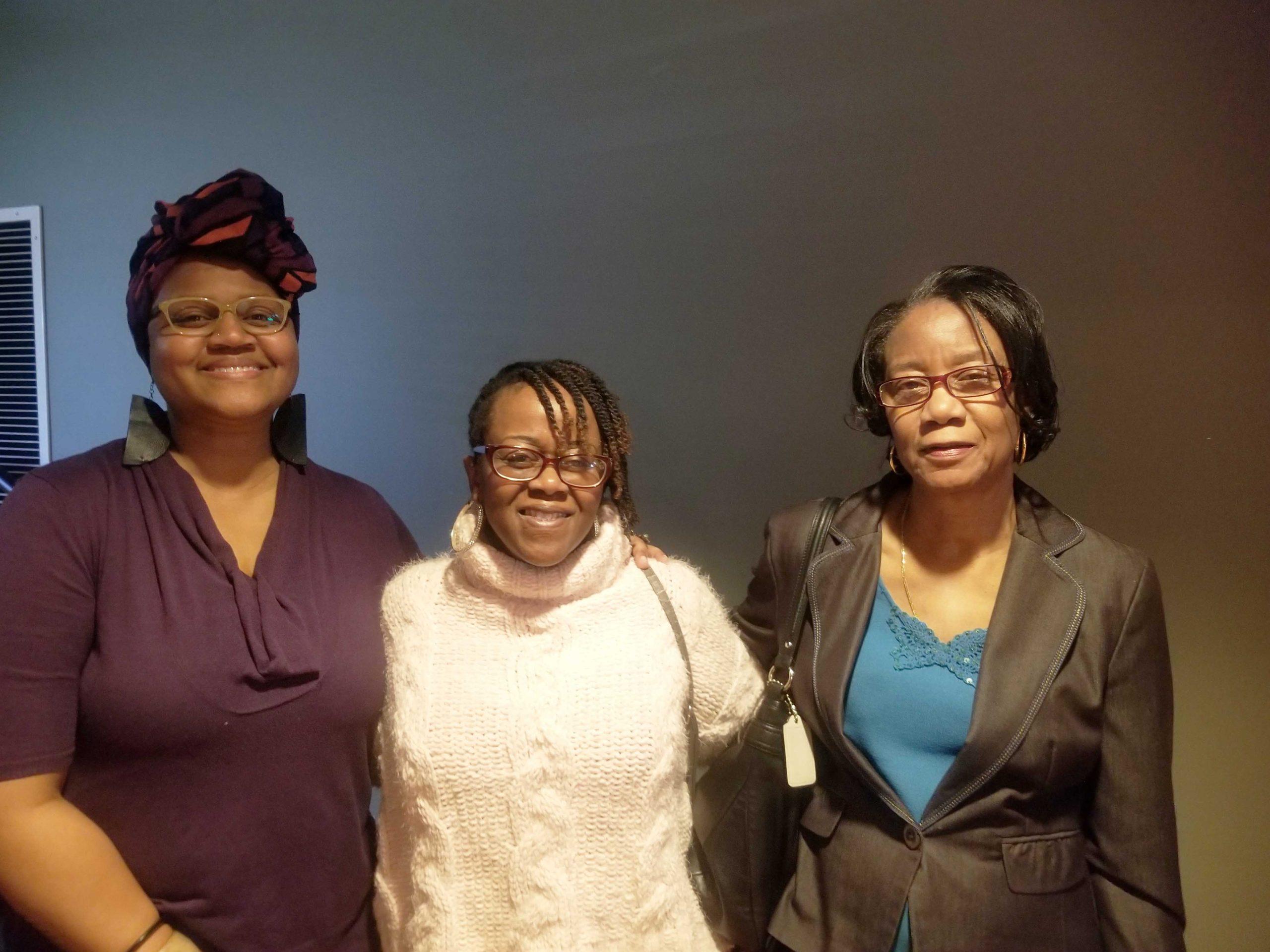 Clarice Abdul-Bey, Angelia Johnson, Willie Jean Johnson