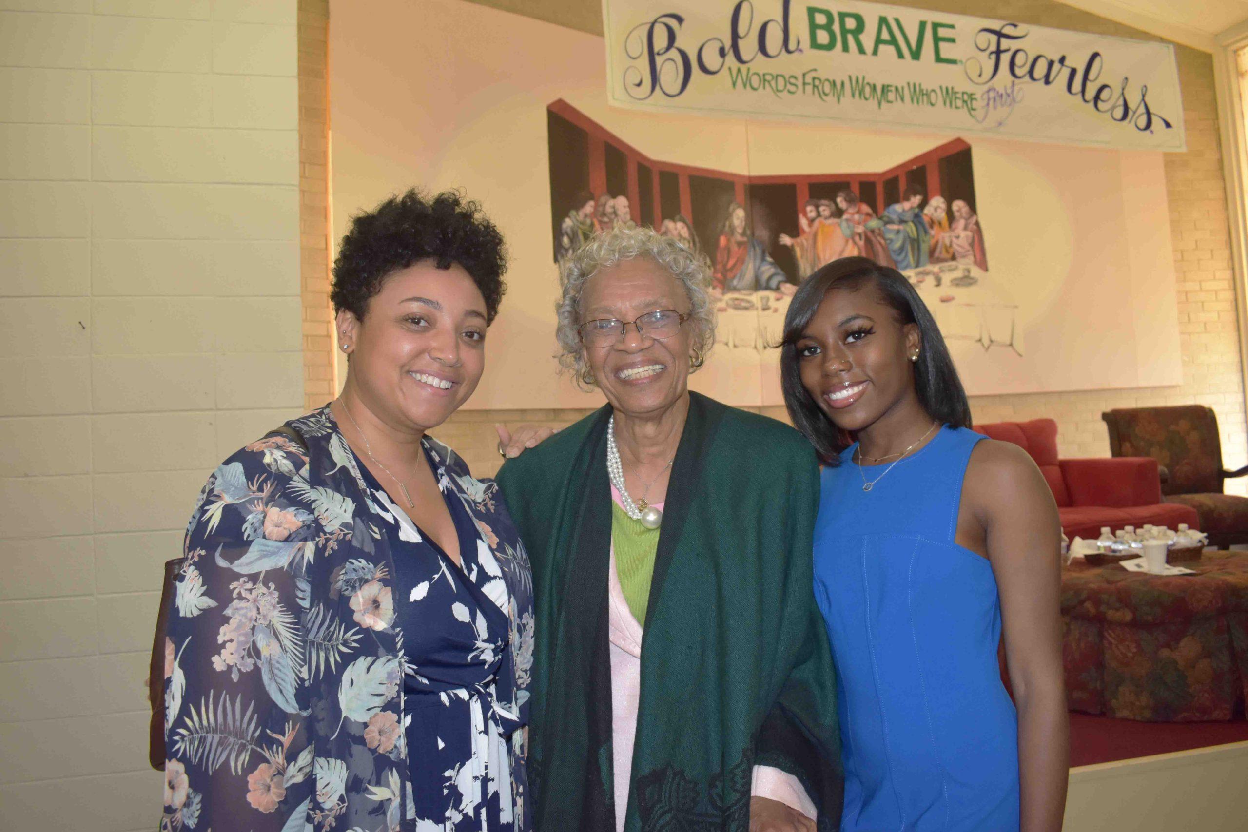 Erin Cumbo, Barbara Johnson (1st black female UAMS Operating Room head nurse, 1st black female appointed to the AR State Board of Health & 1st black female to serve as its president), London Jones