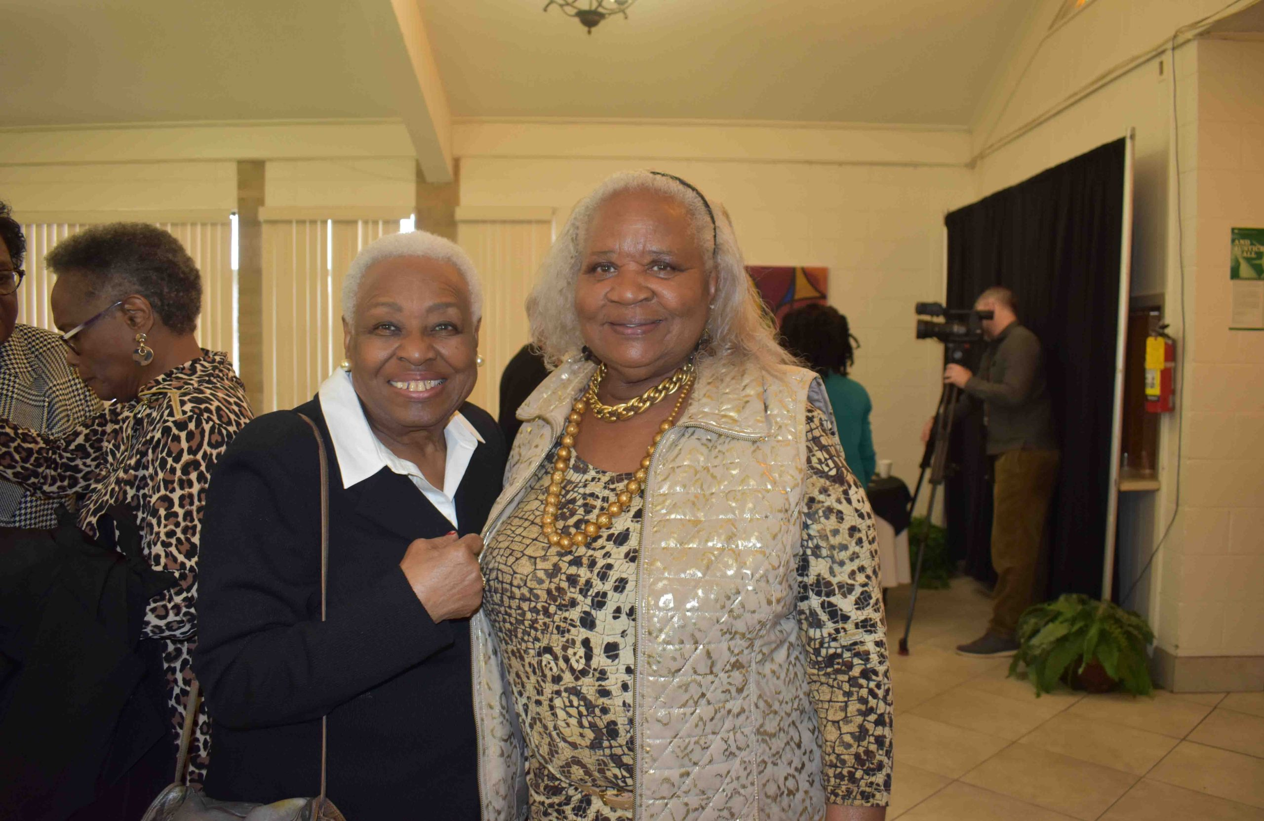 Hon. Irma Hunter Brown (1st black female elected to the AR House of Representatives and the Arkansas Senate), LaVerne Goldsby