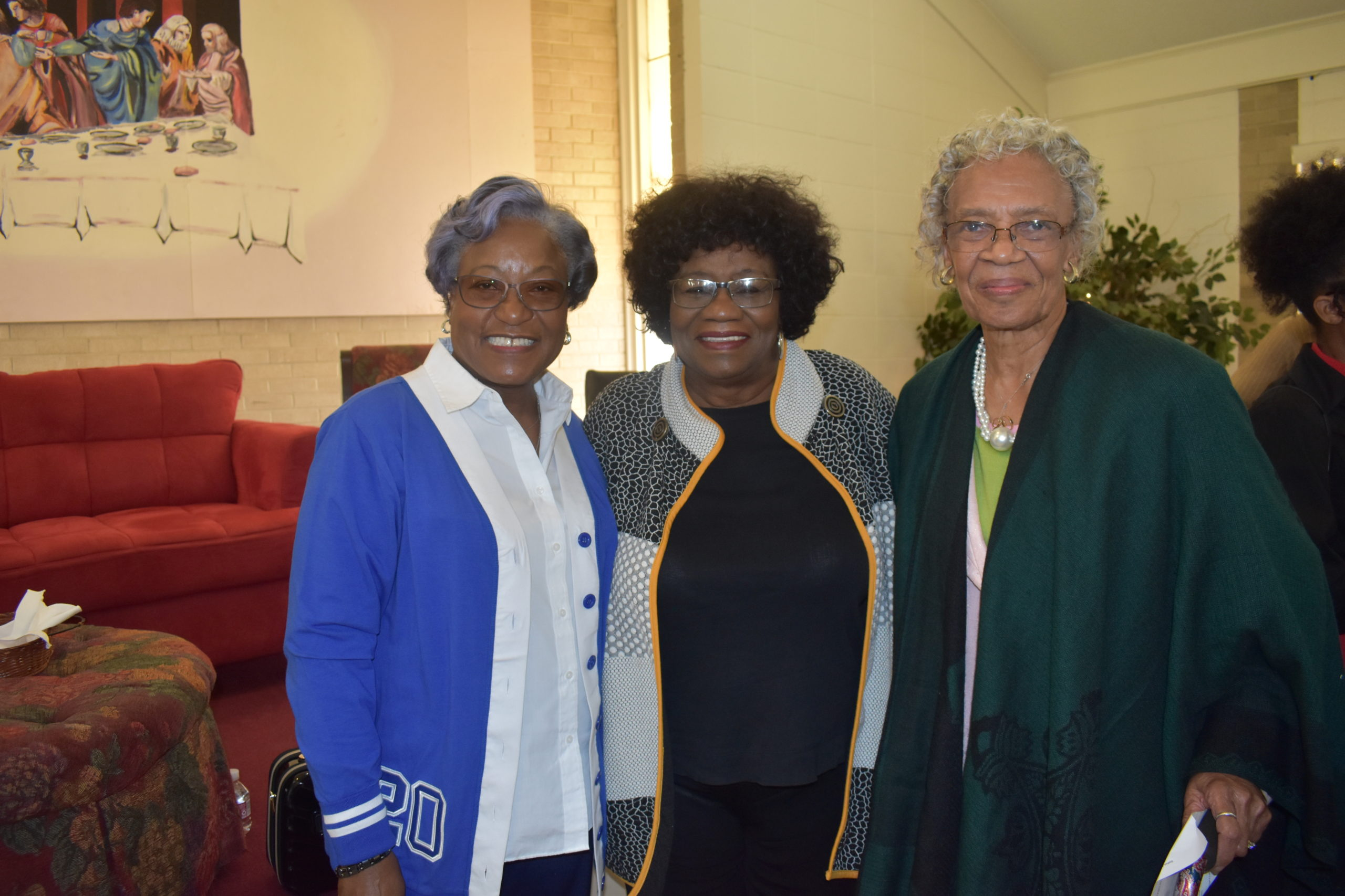 Johnnie Branch, Sen. Linda Chesterfield (1st black graduate of Hendrix College, 1st black female to serve as both president of the Arkansas Teachers Association & Pulaski County Association of Classroom teachers), Barbara Johnson (1st black female UAMS Operating Room head nurse, 1st black female appointed to the AR State Board of Health & 1st black female to serve as its president)
