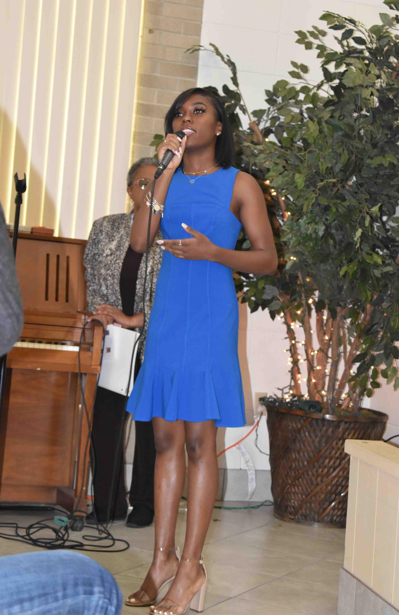 London Jones performs Cynthia Erivo's 'Stand Up'