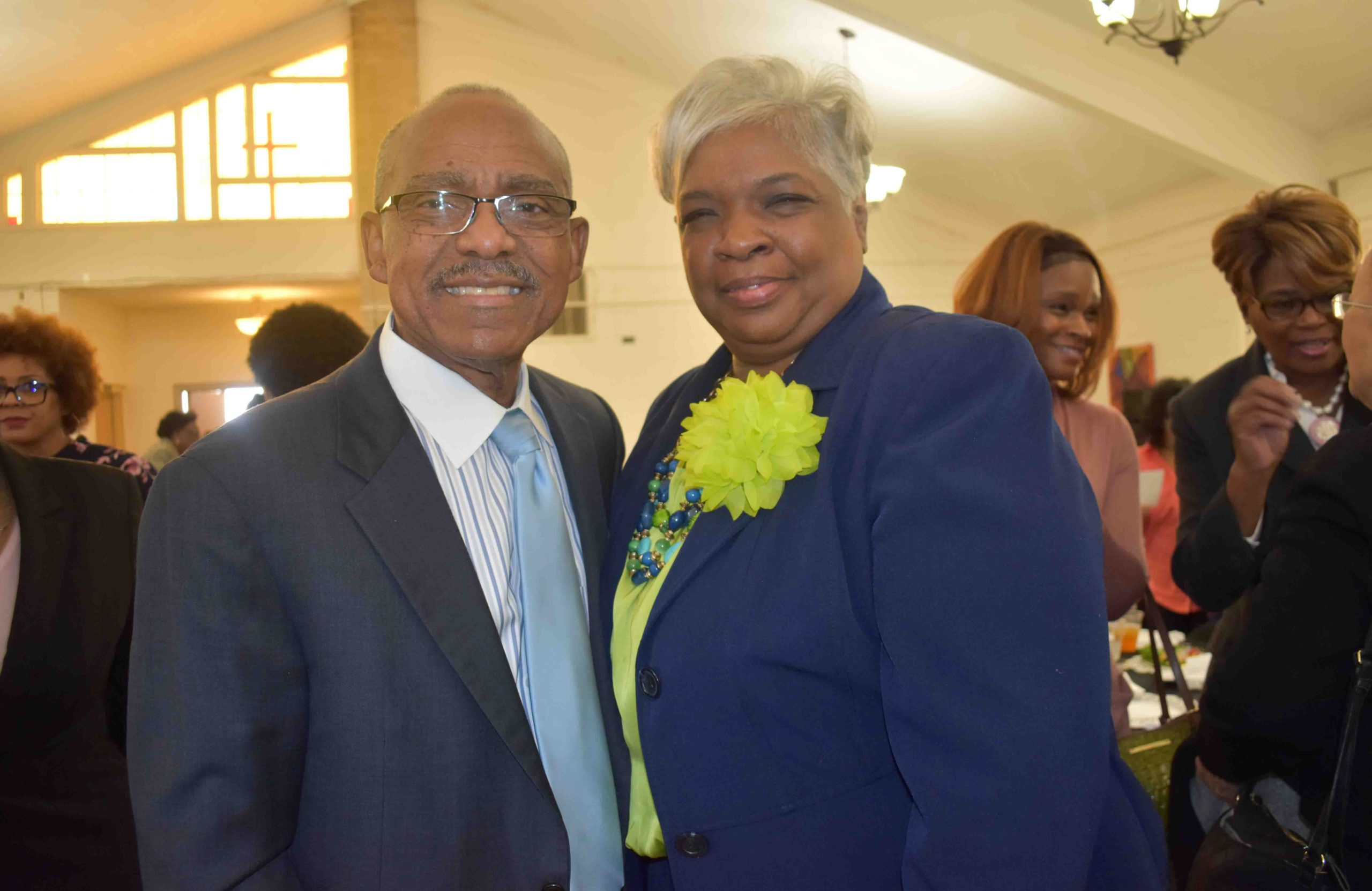 Rev. Truman Tolefree, Terica Richardson