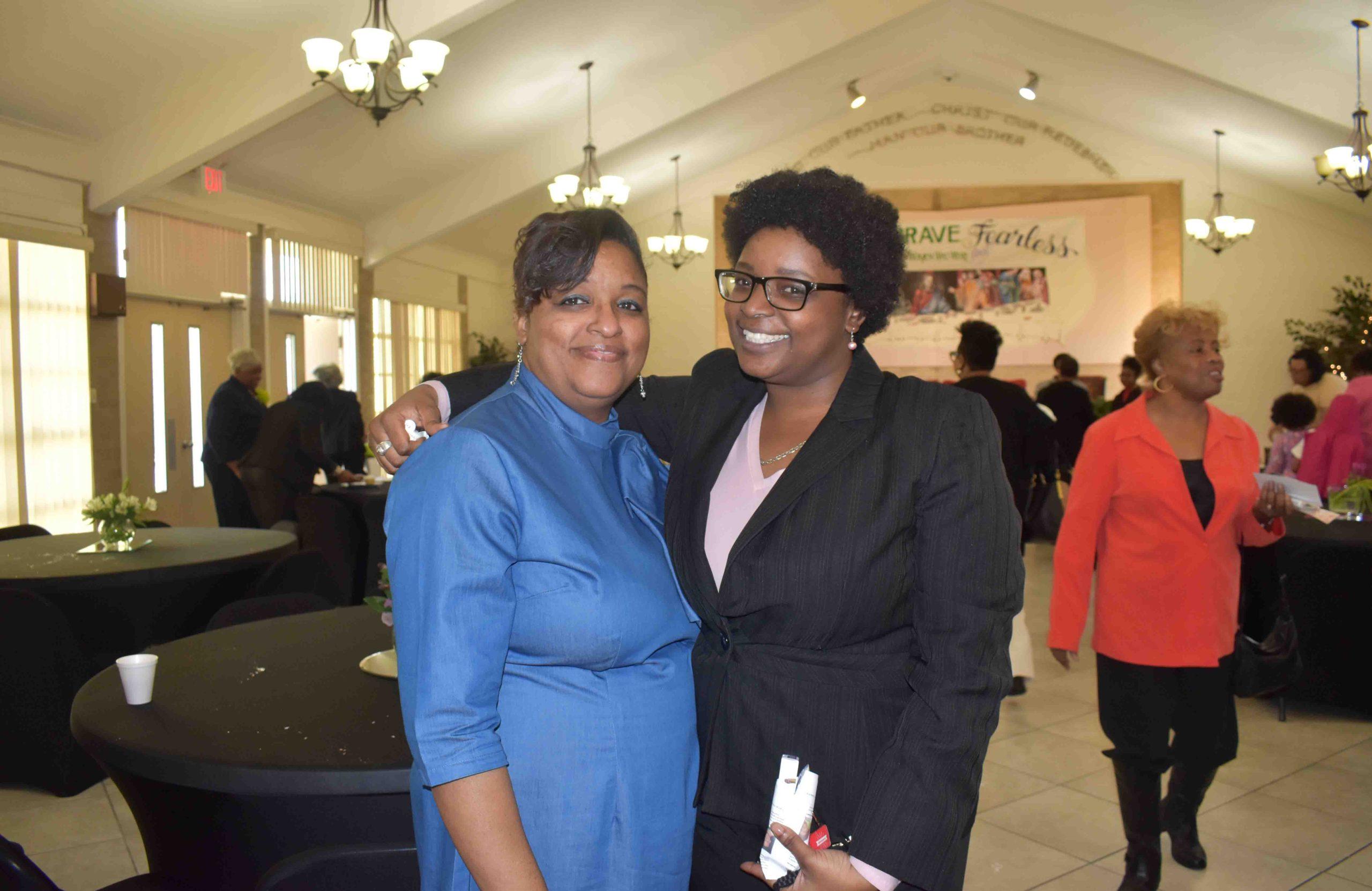 Tina Wright (Women's Missionary Society president), Tia Wright