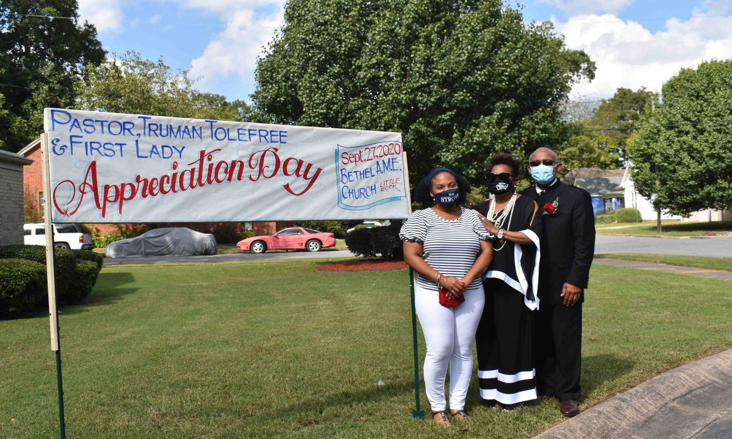 Shannon Tolefree Jackson, Rev. Bettie A. and Pastor Truman Tolefree
