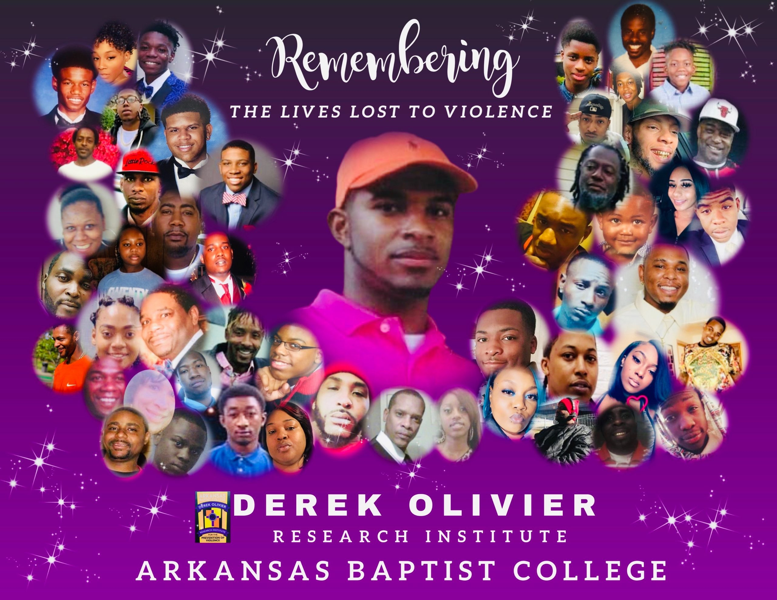 Derek Olivier's Research Institute (DORI) at Arkansas Baptist College Remembers Lives Lost to Violence