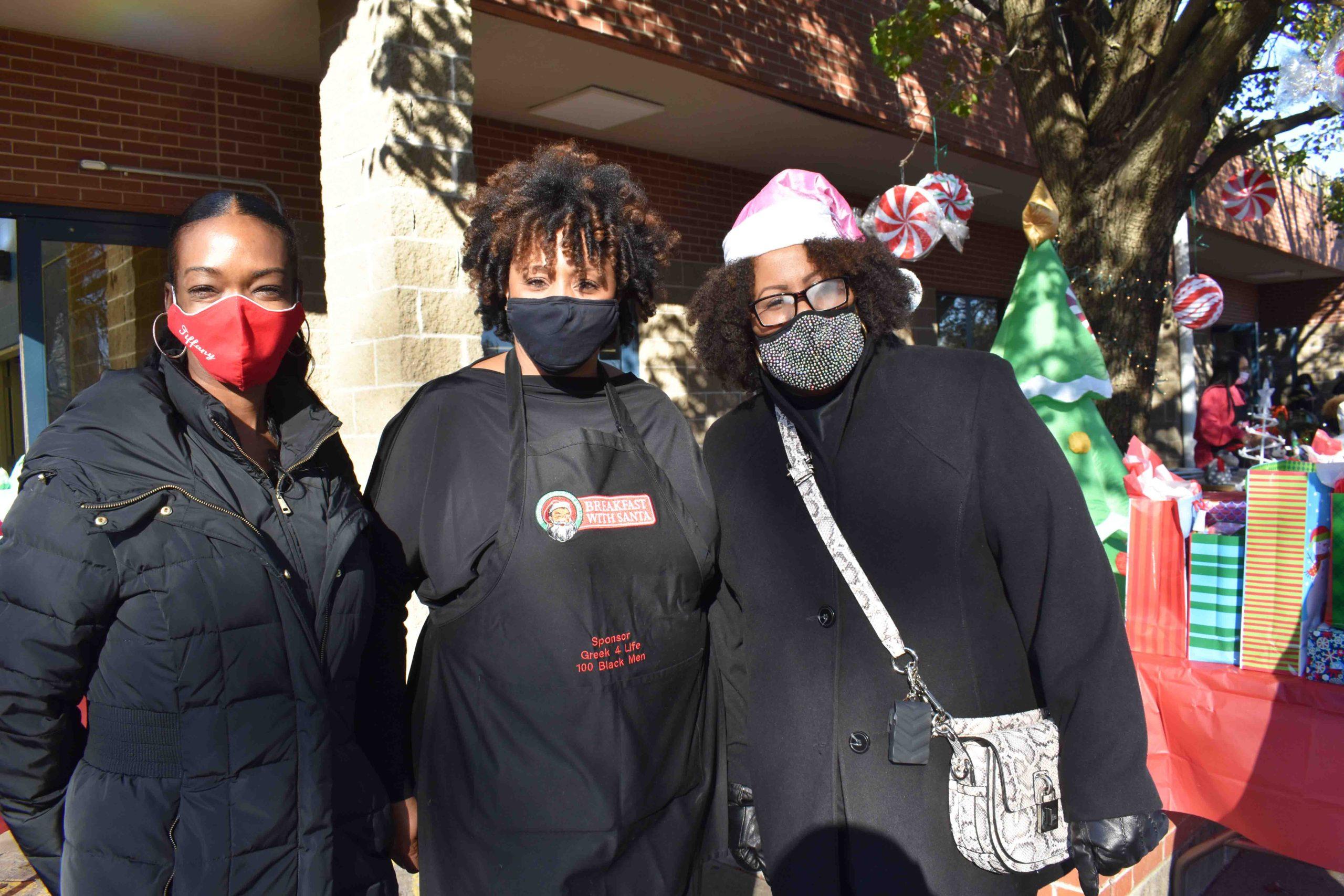 Dr. Tiffany Greenfield, Tammy James, Yvonda Jackson