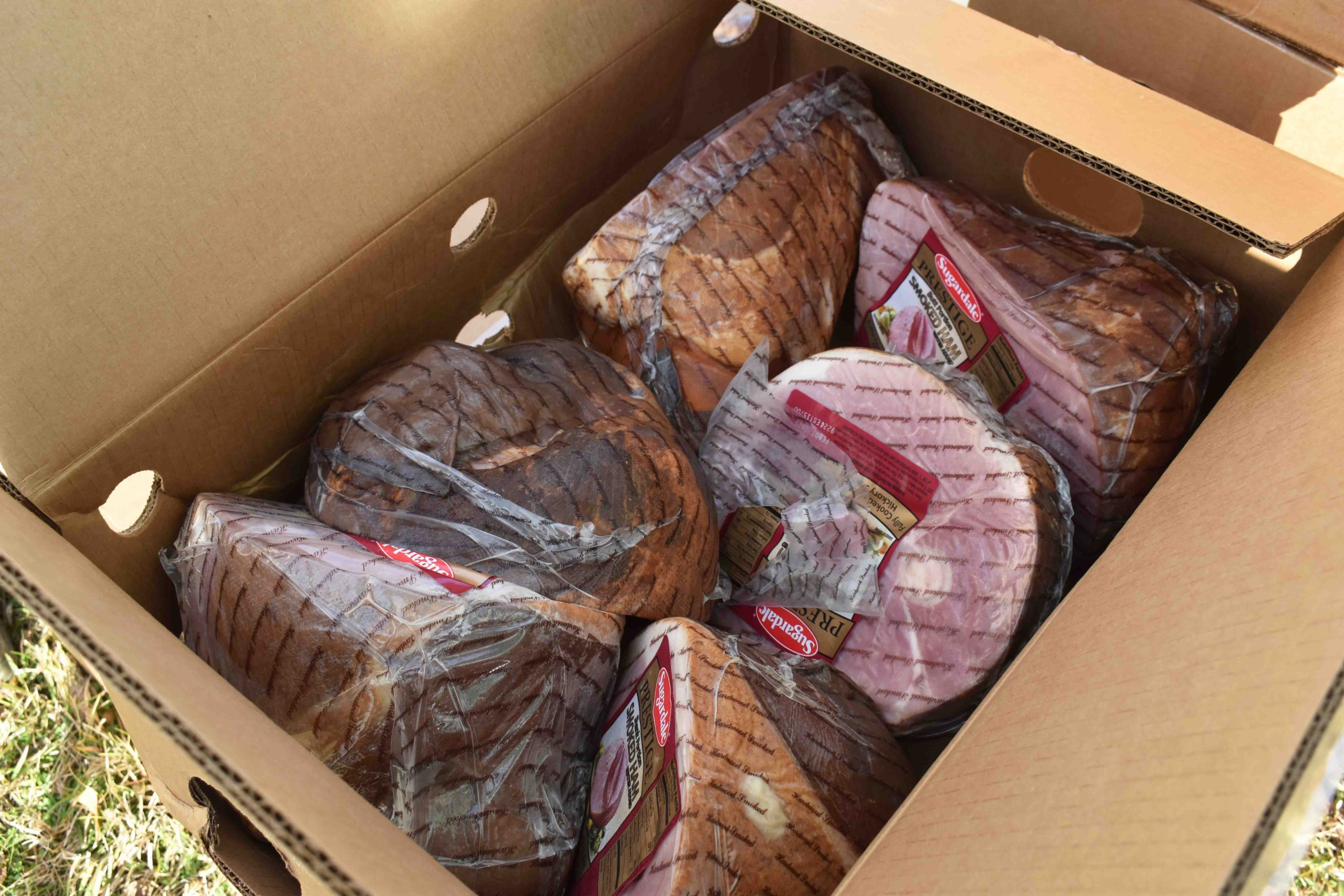 Hams for low-income families