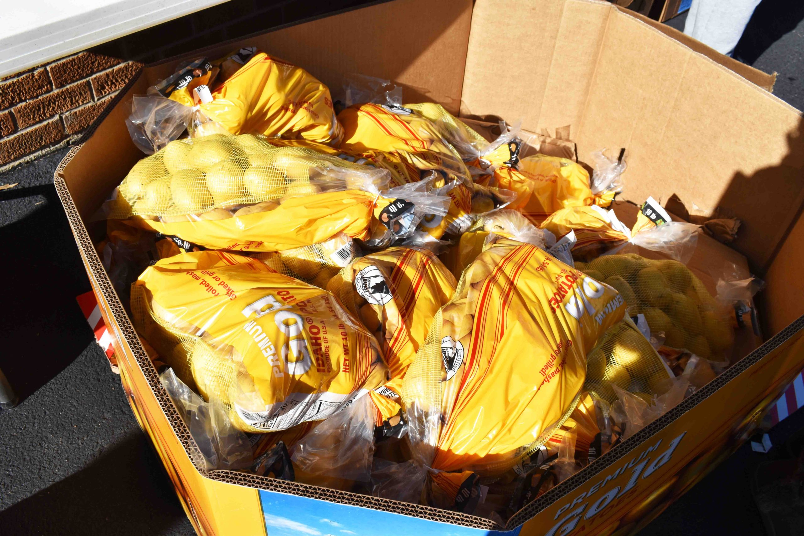 Potatoes for low-income families