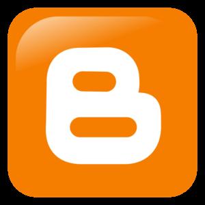 social media - blogger logo
