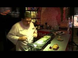 El chef Bricio Domínguez