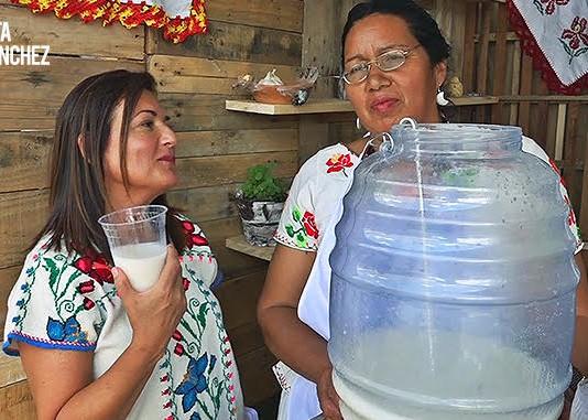 receta AGUA DE CACAHUATE