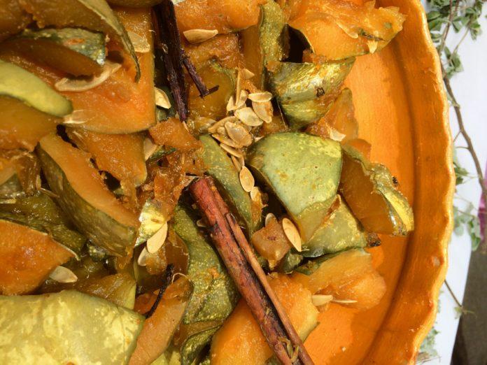 Calabaza cocida de Rosalinda García