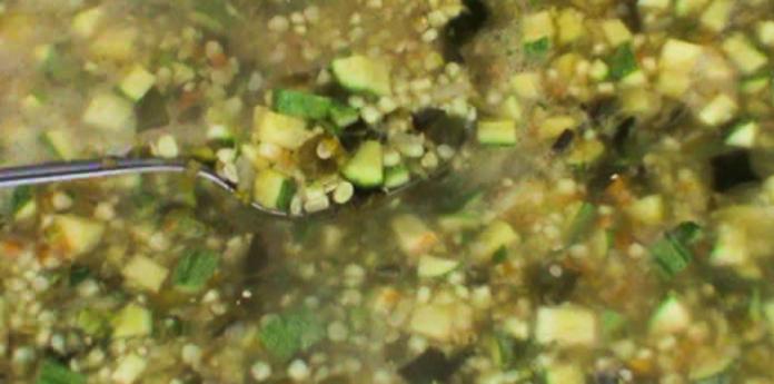 Sopa ranchera o sopa de milpa de Elia Ruth Contreras.