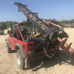 Compact Auger on C-4 Jeep Wrangler