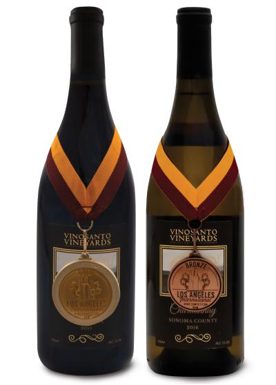 Vinosanto Vineyards Chardonnay and Pinot Noir