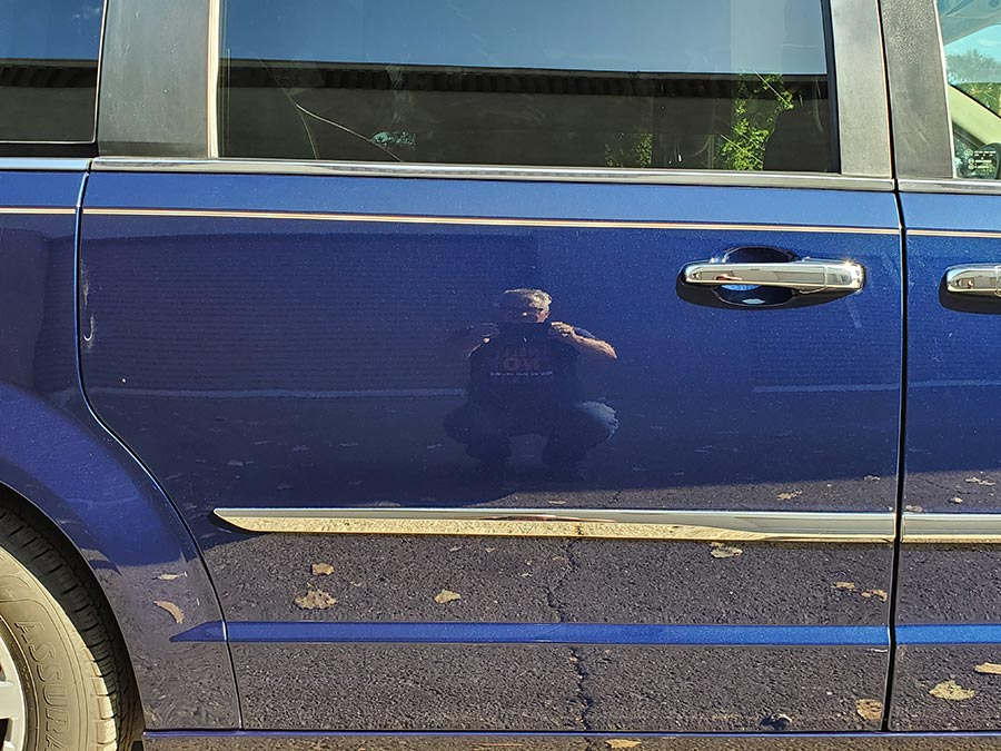 2016 Town and Country Van Damaged from Car Wash Revived ...