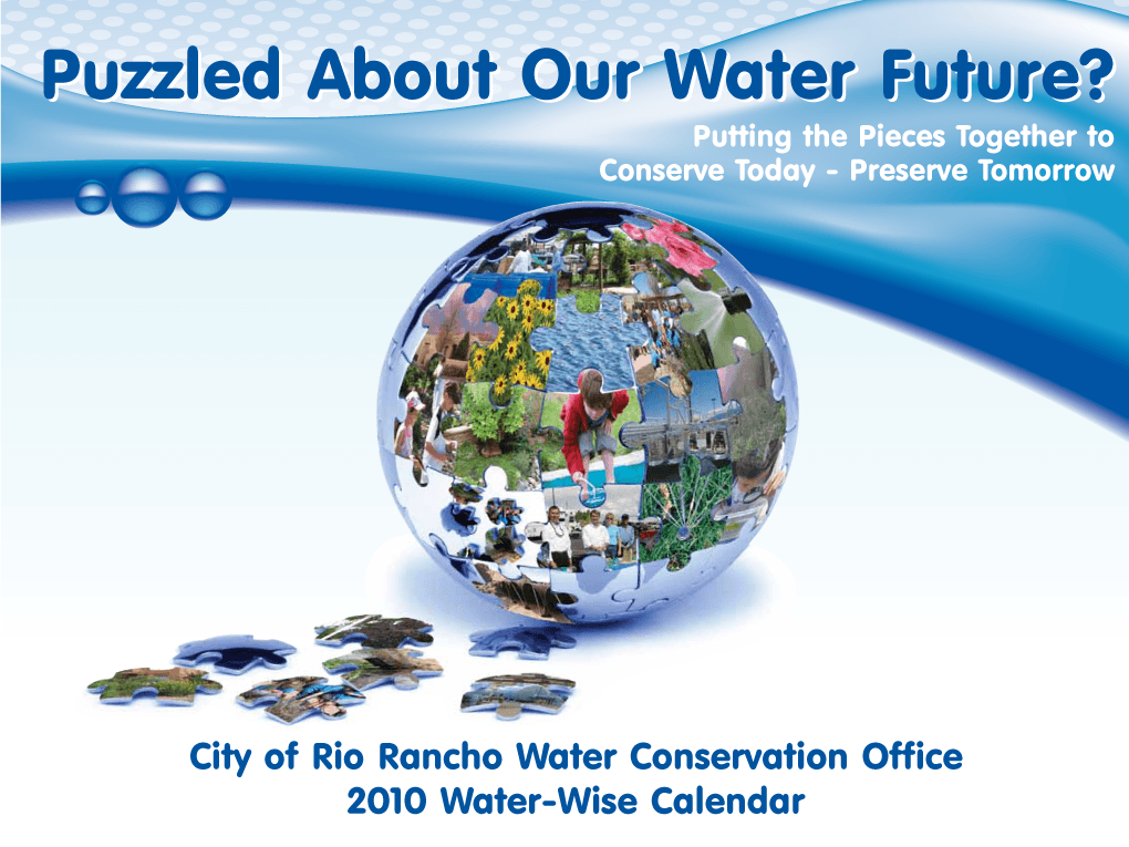 Water Conservation Calendars