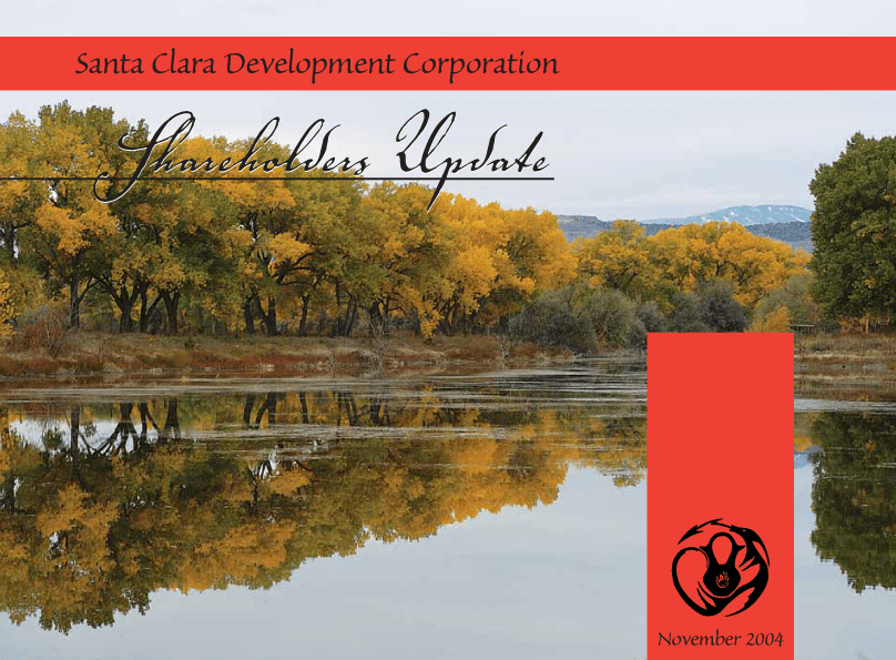 Annual Report for Native American Pueblo designed by XtraMark