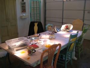 Teaching table