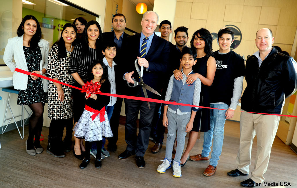 01-12-2018 Code Ninjas Grand Opening by the Mayor Steve Chirico in Naperville Teach Kids Coding while they have a lot of FUN