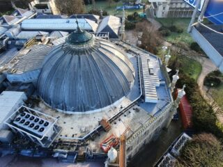 Corn Exchange roof is complete and heritage features restored