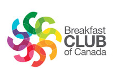 Proud supporter of the Breakfast Club of Canada