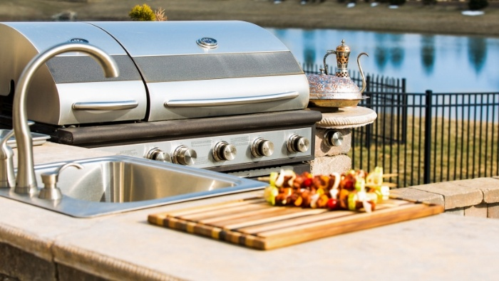 Create an Outdoor Kitchen on a Budget photo