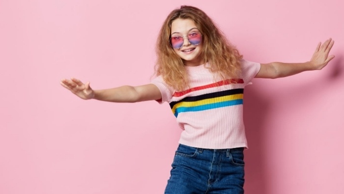 Getting Kids to Be Happy with Hand-Me-Down Clothing photo
