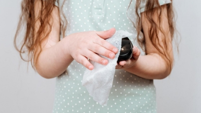 Homemade Disinfectant Wipes photo