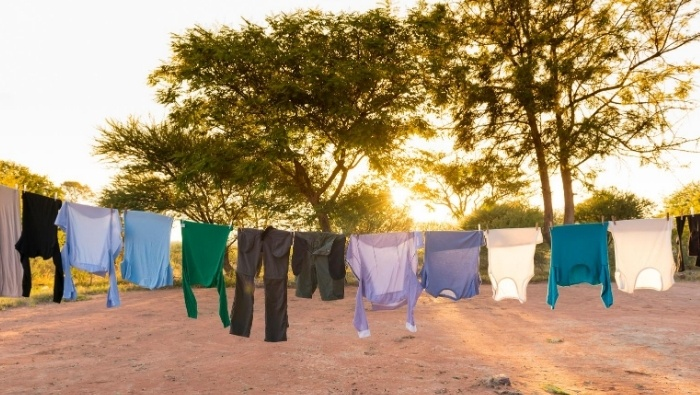 How to Aur Dry Clothing without Stiffness photo