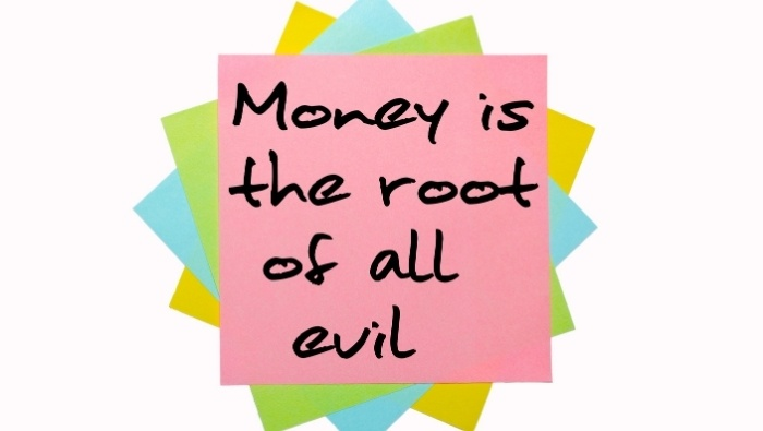 Is Money Evil photo