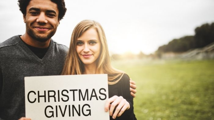 Helping the Less Fortunate at Christmas photo