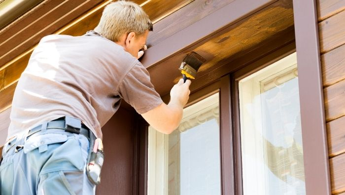 Is Exterior House Painting a DIY Job photo